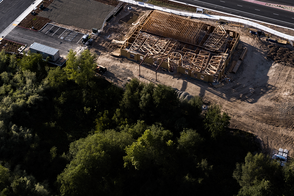 Aerial Construction Photography Sacramento