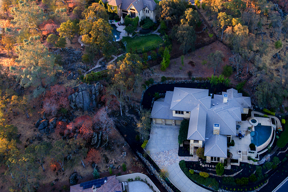 aerial real estate photography
