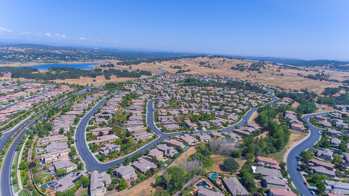 Aerial Photography Sacramento Construction