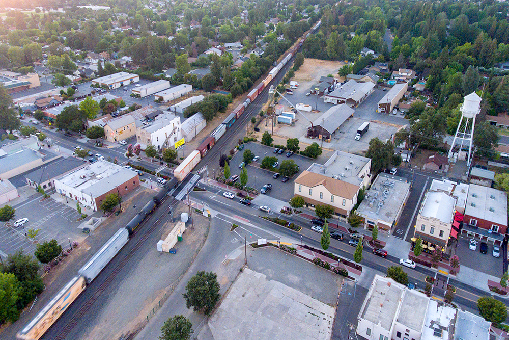 Elk Grove aerial photography
