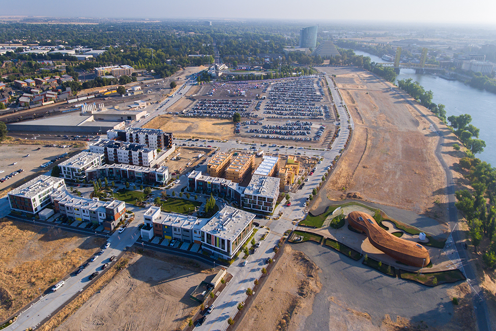 Aerial Photography in West Sacramento
