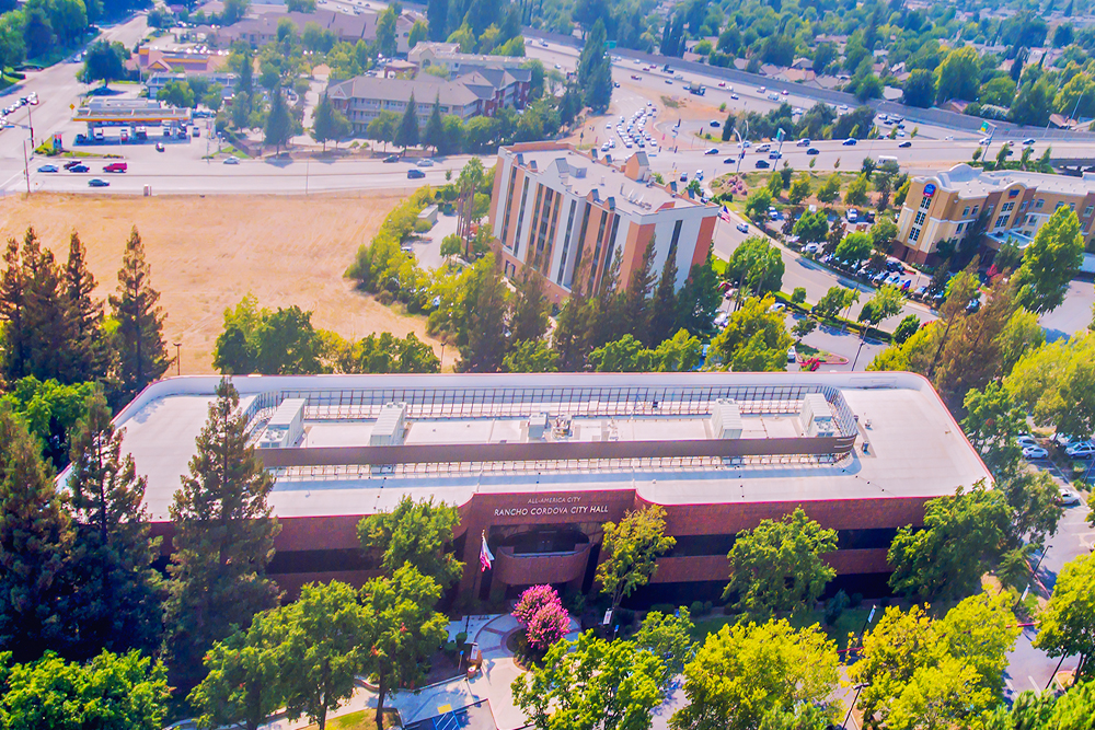 Rancho Cordova Aerial Photography