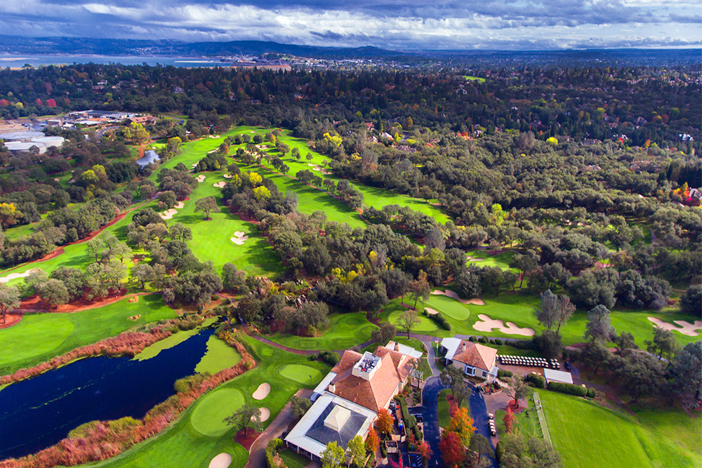 Granite Bay Golf Club Aerial Drone Photography